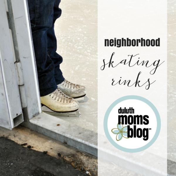 Neighborhood Ice Skating Rinks | Duluth Moms Blog