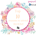 Top TEN Reasons to Attend Bloom with Duluth Moms Blog