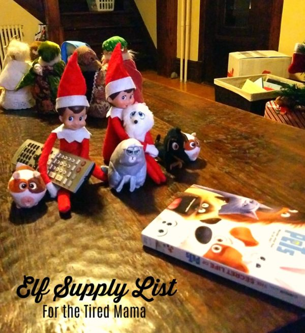 Elf on the Shelf for the Tired Mama {FREE Printable} | Duluth Moms Blog