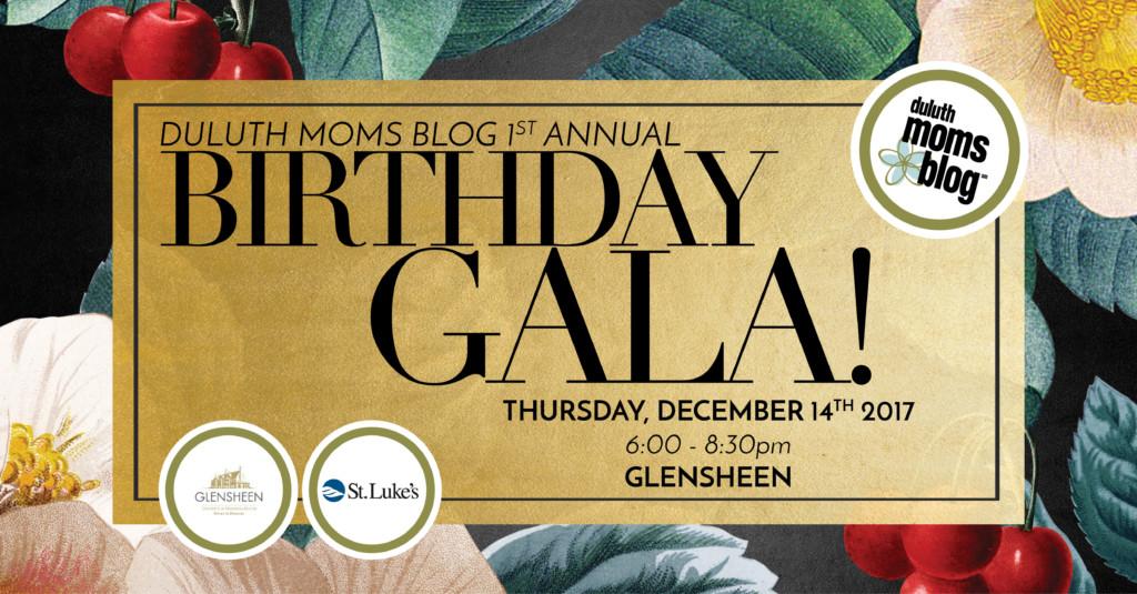 It's a Birthday Gala: Duluth Moms Blog Turns One! | Duluth Moms Blog