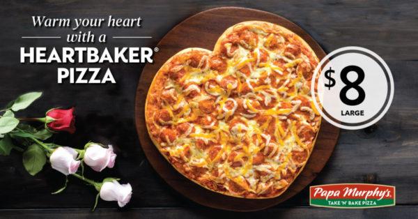 Papa Murphy's Heartbaker Pizza: A Cheesy Symbol of Love | Duluth Moms Blog