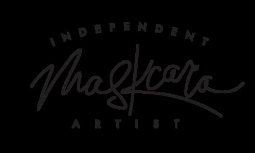 maskcaraindependent-artist-logo-black