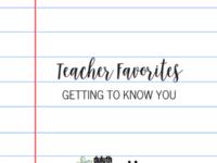 Copy of Teacher favorites-1