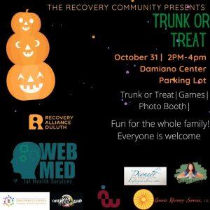 recovery alliance halloween