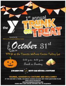 YMCA Halloween