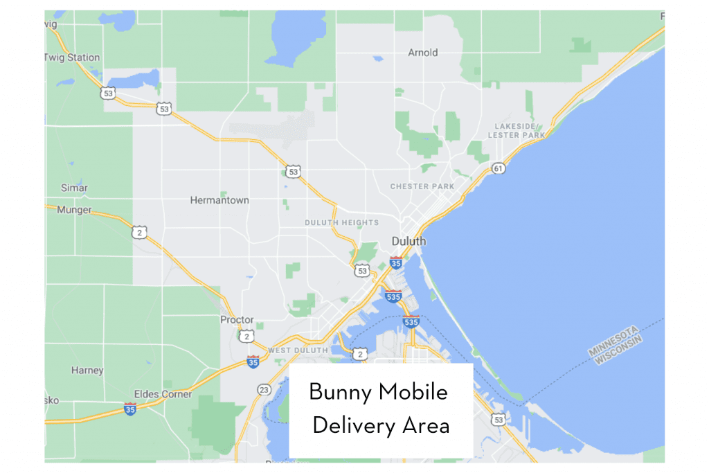 duluth easter bunny