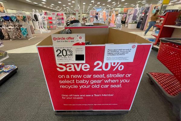 target car seat trade in