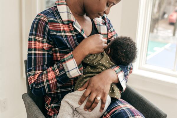 Black Breastfeeding - 600x400